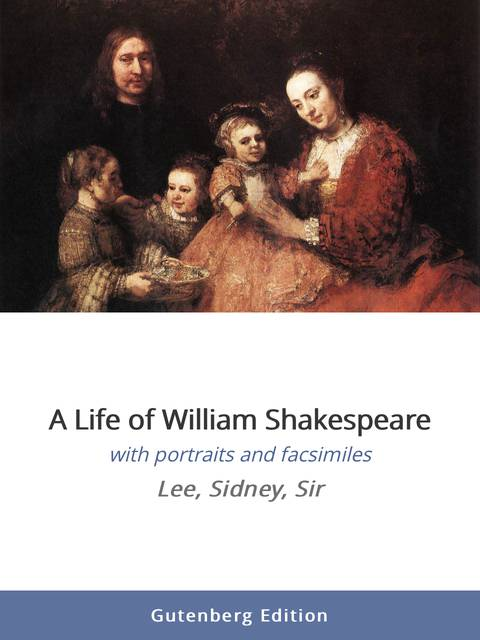 william shakespeare a life of drama essay Memoir of the life of william shakespeare with an essay toward the expression of his genius, and an account of the rise and progress of the english drama by richard grant white12mo.