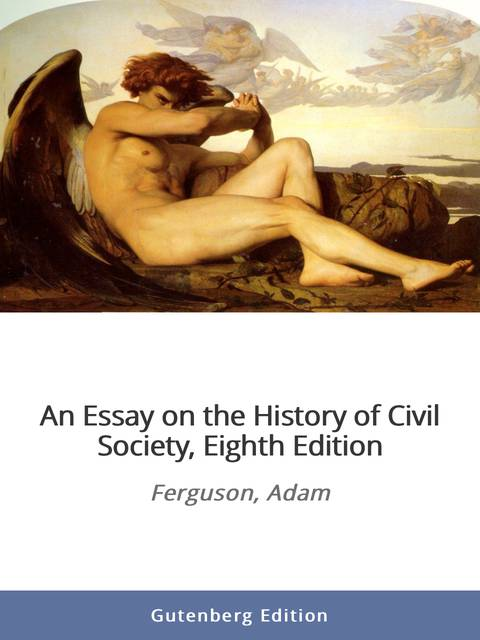 an essay on the history of civil society audiobook